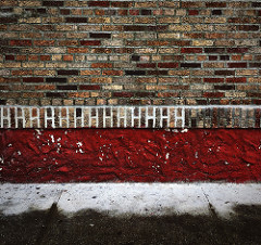 Brick Wall in New York City